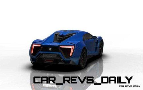 CarRevsDaily Supercars - 2014 W Motors Lykan Hypersport Colors 39