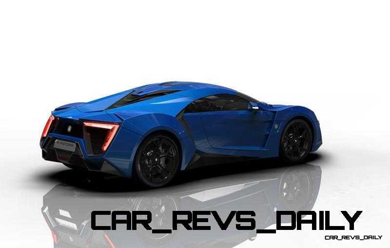 CarRevsDaily Supercars - 2014 W Motors Lykan Hypersport Colors 42