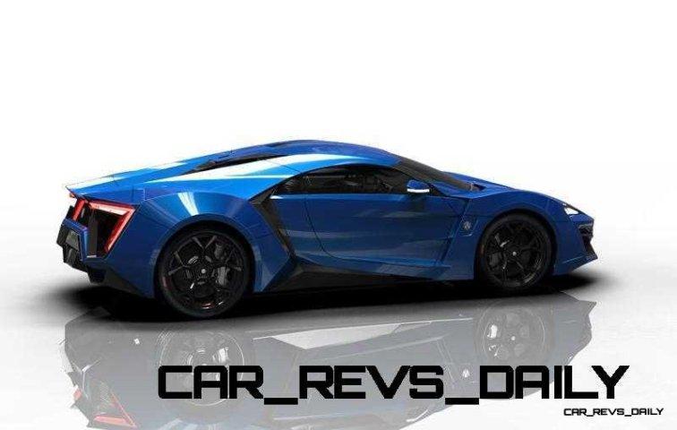 CarRevsDaily Supercars - 2014 W Motors Lykan Hypersport Colors 44