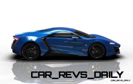 CarRevsDaily Supercars - 2014 W Motors Lykan Hypersport Colors 46
