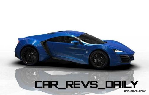 CarRevsDaily Supercars - 2014 W Motors Lykan Hypersport Colors 48