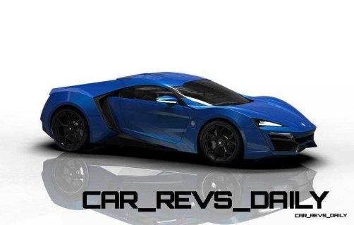 CarRevsDaily Supercars - 2014 W Motors Lykan Hypersport Colors 49