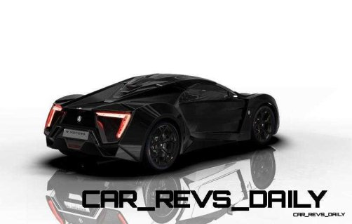 CarRevsDaily Supercars - 2014 W Motors Lykan Hypersport Colors 5
