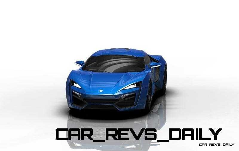 CarRevsDaily Supercars - 2014 W Motors Lykan Hypersport Colors 56