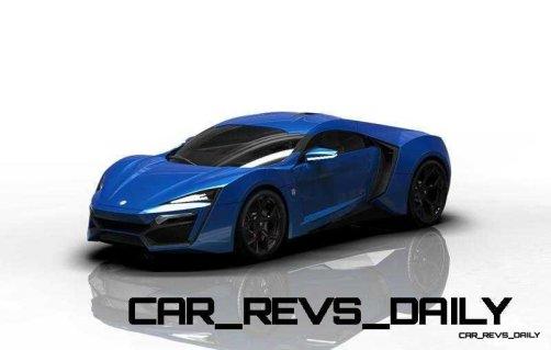 CarRevsDaily Supercars - 2014 W Motors Lykan Hypersport Colors 59