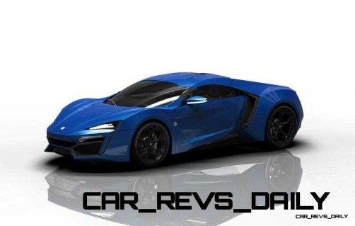 CarRevsDaily Supercars - 2014 W Motors Lykan Hypersport Colors 60