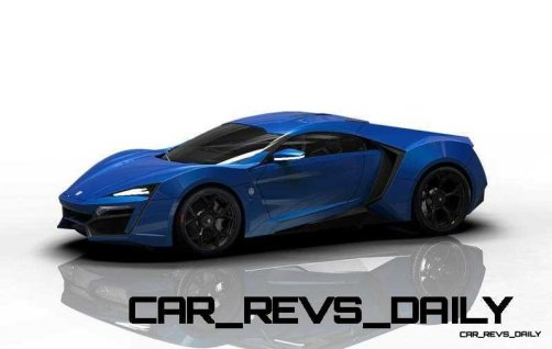 CarRevsDaily Supercars - 2014 W Motors Lykan Hypersport Colors 61