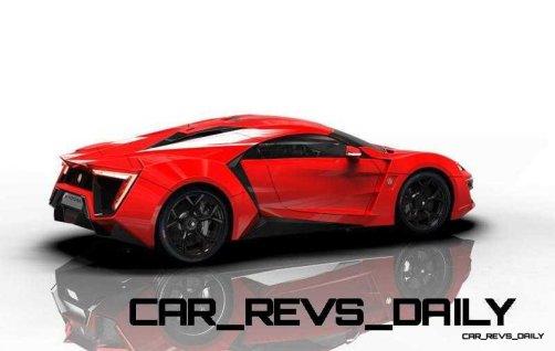 CarRevsDaily Supercars - 2014 W Motors Lykan Hypersport Colors 79