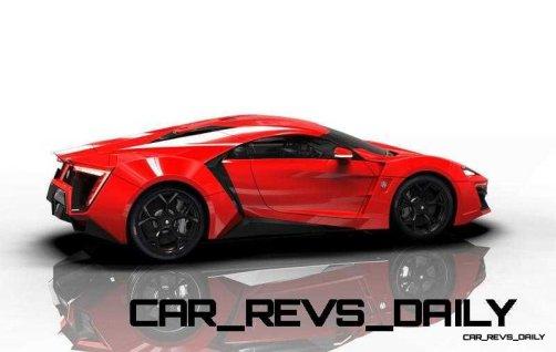 CarRevsDaily Supercars - 2014 W Motors Lykan Hypersport Colors 80