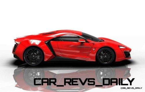 CarRevsDaily Supercars - 2014 W Motors Lykan Hypersport Colors 82