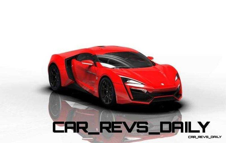 CarRevsDaily Supercars - 2014 W Motors Lykan Hypersport Colors 88