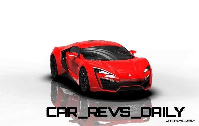 CarRevsDaily Supercars - 2014 W Motors Lykan Hypersport Colors 89