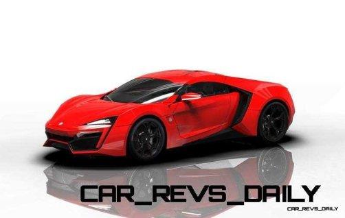 CarRevsDaily Supercars - 2014 W Motors Lykan Hypersport Colors 96