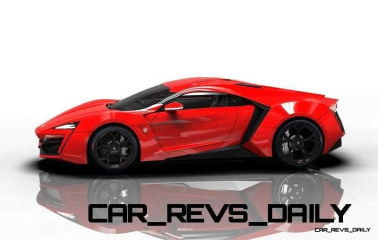 CarRevsDaily Supercars - 2014 W Motors Lykan Hypersport Colors 99