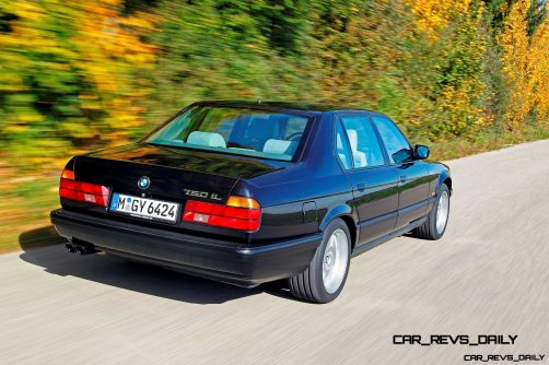 Celebrating the Evolution of the V12 BMW 7-series 34