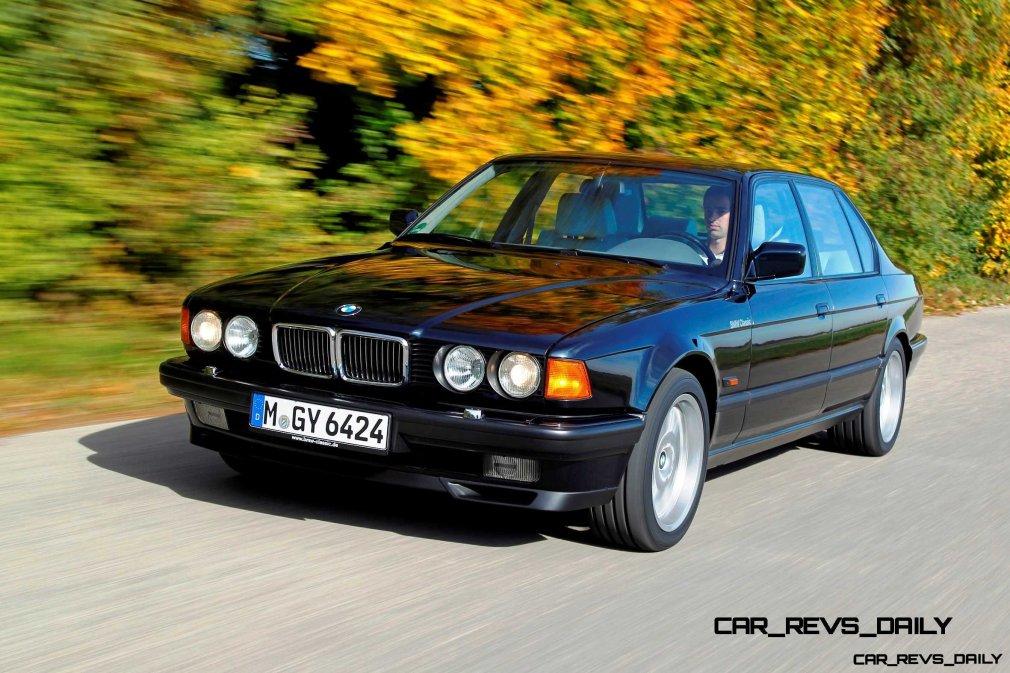 Celebrating the Evolution of the V12 BMW 7-series 35