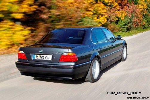 Celebrating the Evolution of the V12 BMW 7-series 45