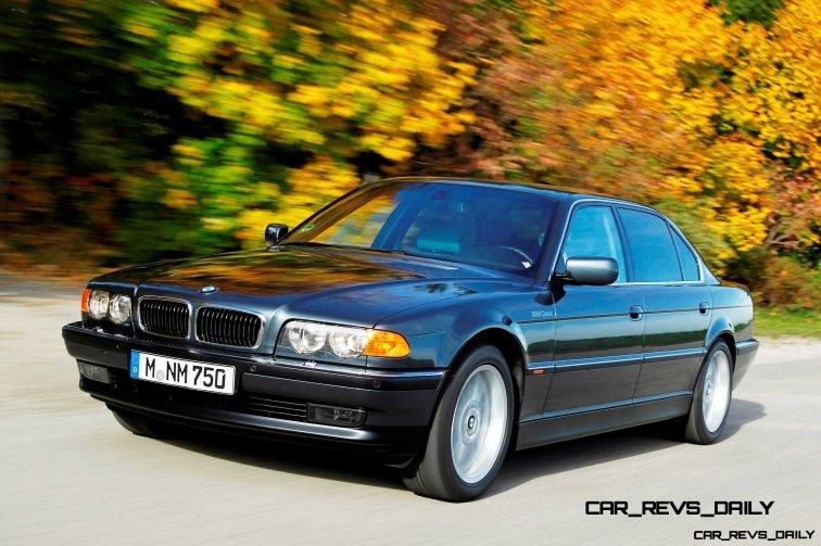 Celebrating the Evolution of the V12 BMW 7-series 46