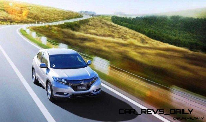Cool! 2015 Honda Vezel Hybrid Previews Spring 2014 Civic CUV21