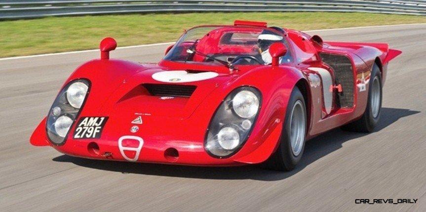Hero Racecars Alfa-Romeo Tipo 33-2 LeMans and Mugello4