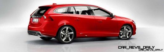 Hot New Wagons 2014 Volvo V60 R-Design 5