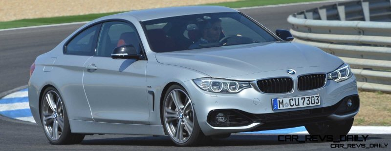 Latest BMW 435i Track Photos Show Beautiful Proportions 8