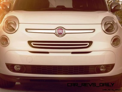 Latest Real-Life Photos Show a Much Cuter 2014 Fiat 500L 33