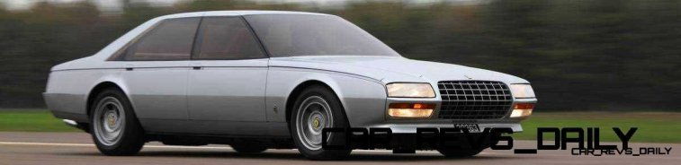 Most Copied 4-Door Never Made - 1980 Ferrari Pinin Concept 19