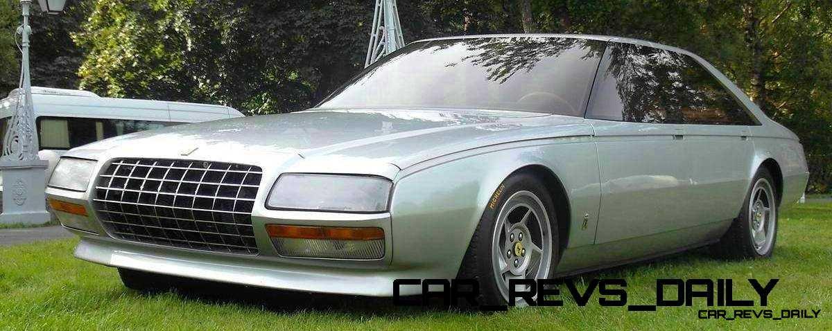 Most Copied 4-Door Never Made - 1980 Ferrari Pinin Concept 23
