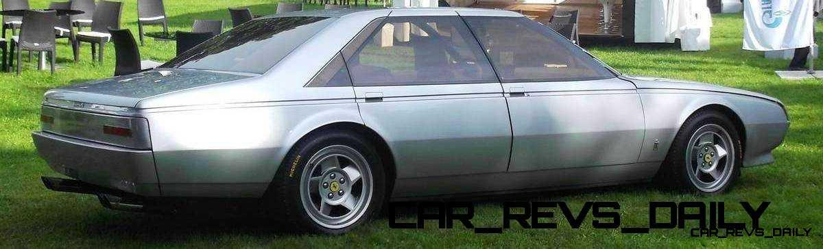 Most Copied 4-Door Never Made - 1980 Ferrari Pinin Concept 25