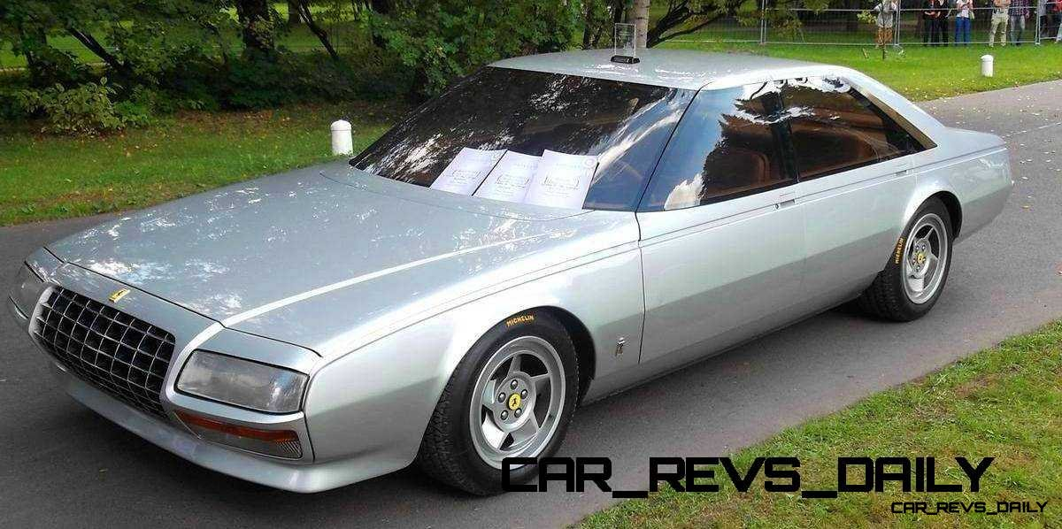 Most Copied 4-Door Never Made - 1980 Ferrari Pinin Concept 26