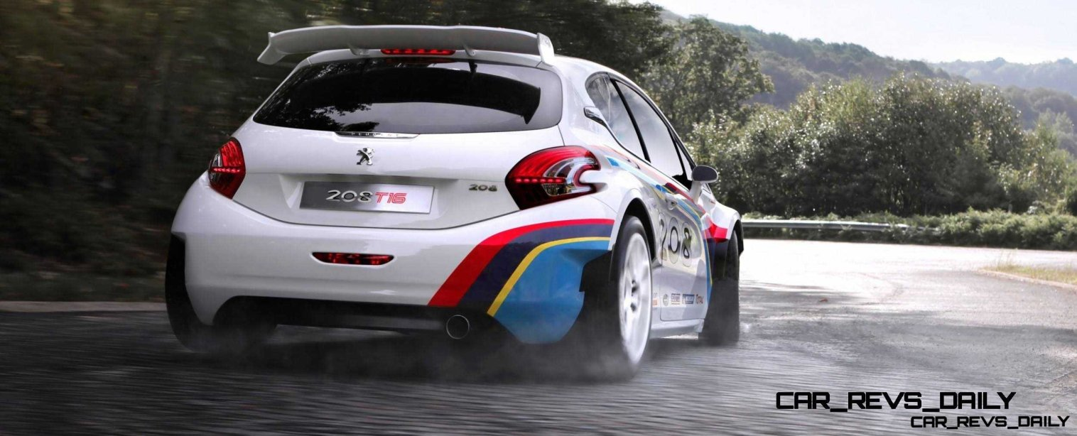 Peugeot 208 T16 and 205 T16 Group B 48