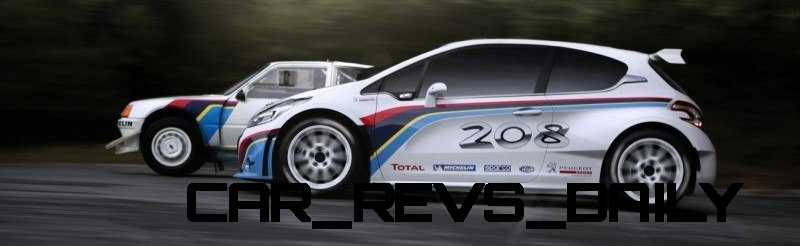 Peugeot 208 T16 and 205 T16 Group B 5