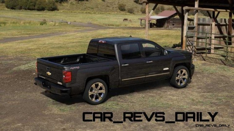 Silverado High Country Visualizer - Colors and 22-inch Wheels Galore11