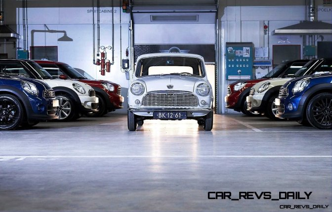 Timelapse - 1961 MINI Drops 54 Years in 54 Seconds 64