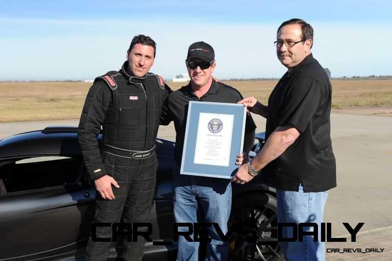 Venom GT Guinness World Record Fastest Car 26