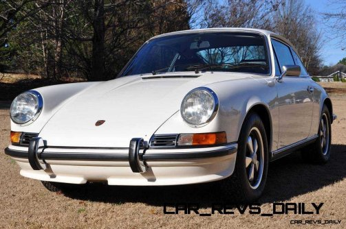 White 1972 Porsche 911S for sale in Raleigh NC 40