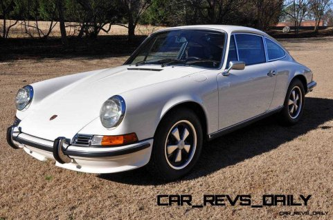 White 1972 Porsche 911S for sale in Raleigh NC 9