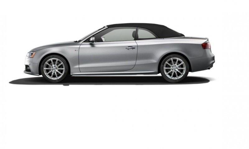 2014 Audi A5 Sport Package Cabriolet COLORS 9