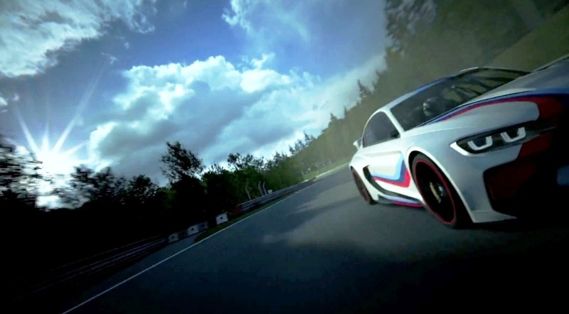 2014 BMW Vision Gran Turismo is 550HP Dream M4 CSL Widebody 13