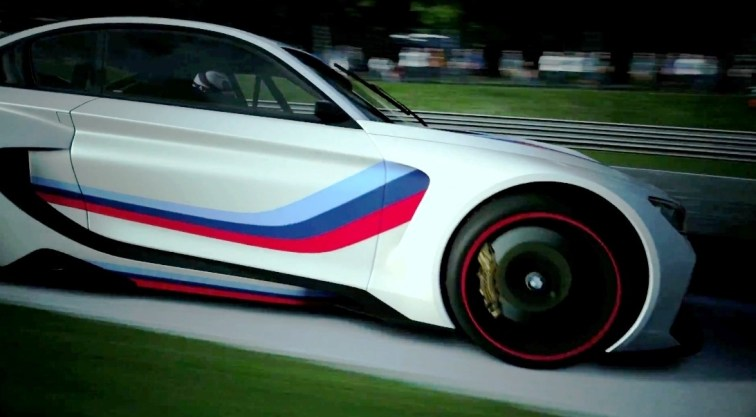 2014 BMW Vision Gran Turismo is 550HP Dream M4 CSL Widebody 15