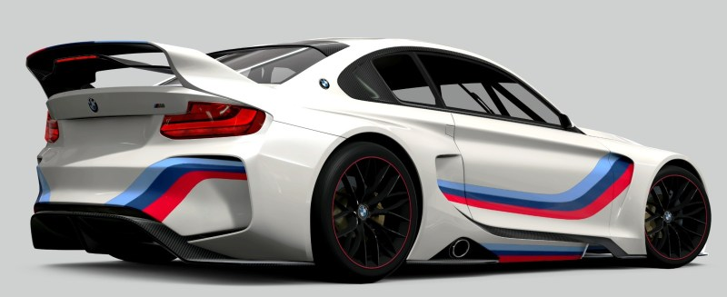 2014 BMW Vision Gran Turismo is 550HP Dream M4 CSL Widebody 59
