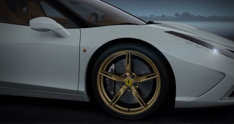 2014 Ferrari 458 Speciale Featured in All-New Car Configurator - See and Hear My Ideal Fezza 71