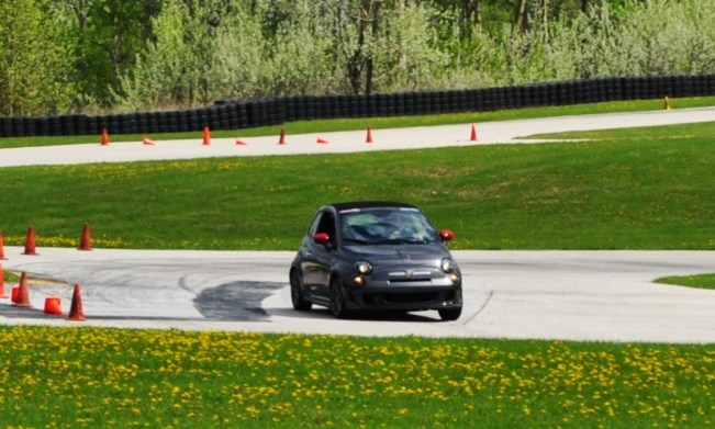 2014 Fiat Abarth 500C Autocross Road America 4