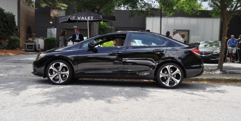 2014 Honda Civic Si Sedan Looking FU Cool In 32 Real-Life Photos 15
