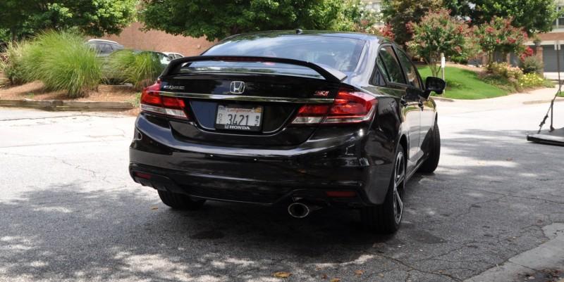 2014 Honda Civic Si Sedan Looking FU Cool In 32 Real-Life Photos 26