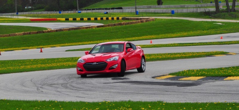 2014 Hyundai Genesis Coupe 3.8L V6 R-Spec - Road Test Review of FAST and FUN RWD Sportscar 106