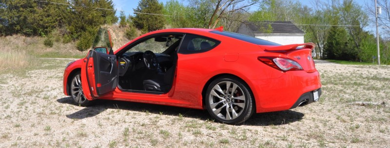 2014 Hyundai Genesis Coupe 3.8L V6 R-Spec - Road Test Review of FAST and FUN RWD Sportscar 13