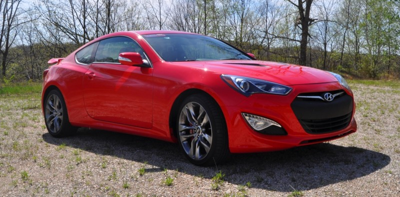 2014 Hyundai Genesis Coupe 3.8L V6 R-Spec - Road Test Review of FAST and FUN RWD Sportscar 23