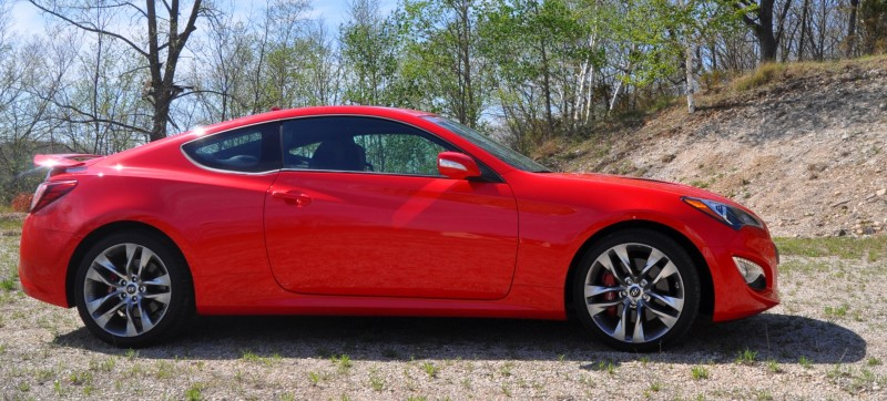 2014 Hyundai Genesis Coupe 3.8L V6 R-Spec - Road Test Review of FAST and FUN RWD Sportscar 26